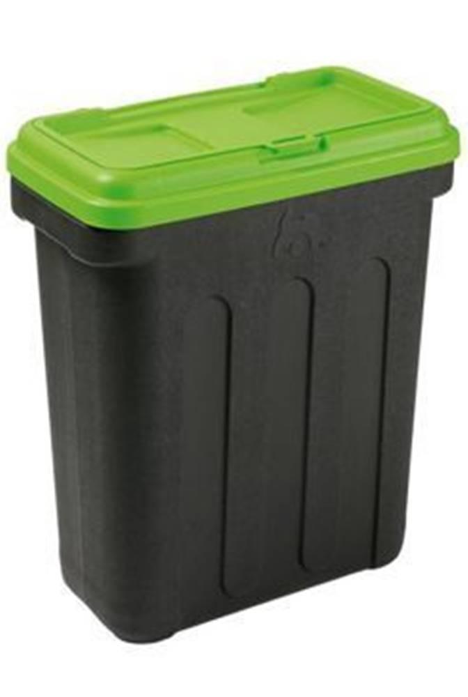 Ostatní MAELSON Box na granule čierna / zelená 20kg