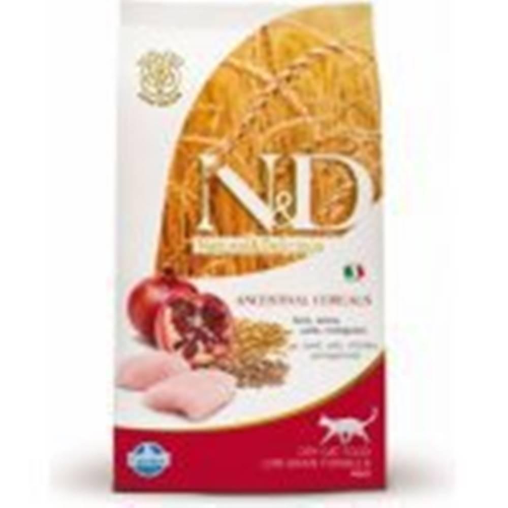 N&D N&D Low Grain CAT Adult Chicken & Pomegranate 10kg