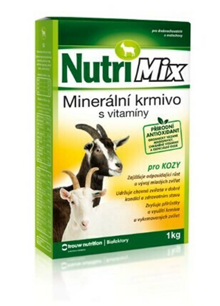 Biofaktory NutriMix pro kozy plv 20kg
