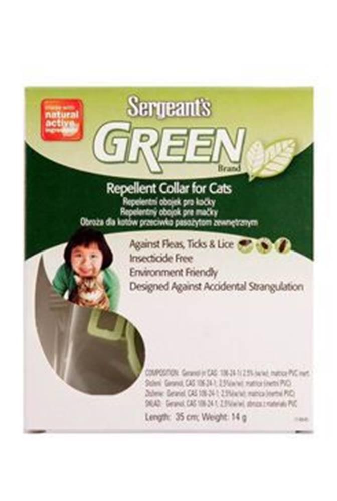 Sergeants Sergeants Green obojok pre mačky 35cm 1ks