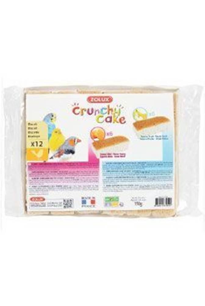 Zolux Sušienky vták Crunchy CAKE HONEY FRUITS 12ks 150g Zolux