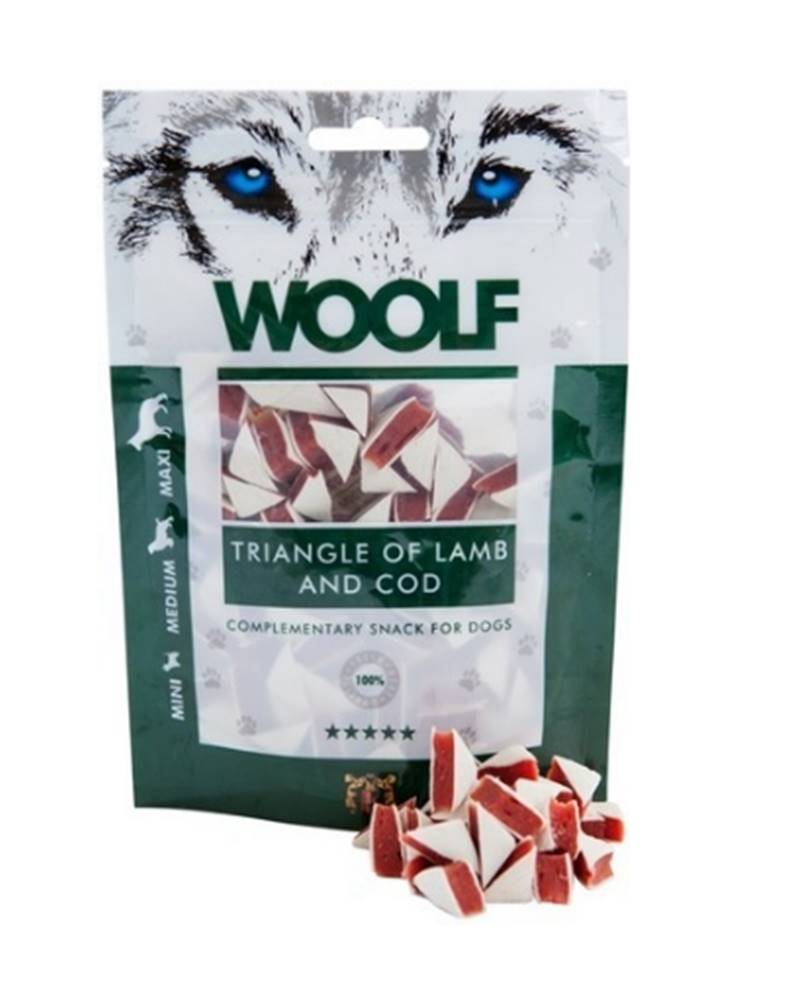 Woolf WOOLF pochoutka Lamb and Cod Triangle