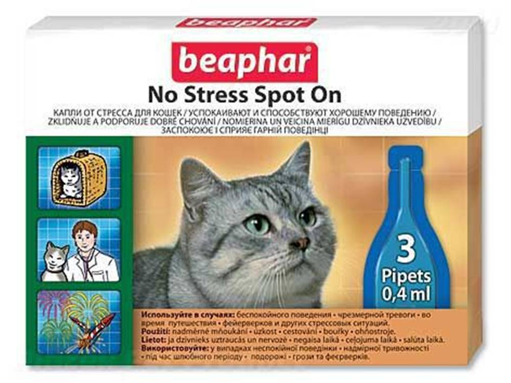 Beaphar Beaphar No Stress Spot On pro kočky 1,2ml