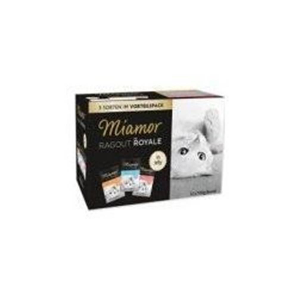 Miamor Miamor Cat Ragout kapsa Multi, krůta+losos+te 3x4x100g