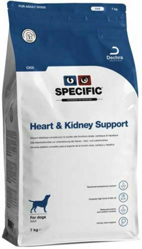Specific Specific CKD Heart & Kidney Support 3x4kg pes