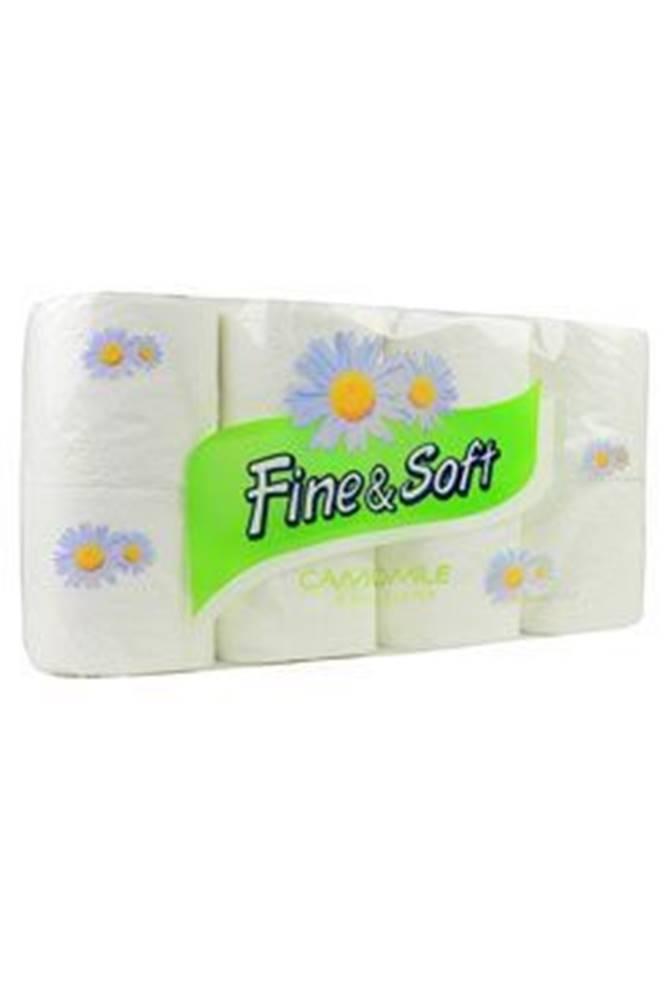 Ostatní Wc toaletní papír Fine and Soft 3V kamilkový 8ks