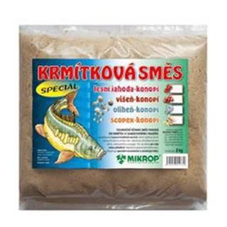 Krmítková směs Jahoda pro ryby - konopí 2kg