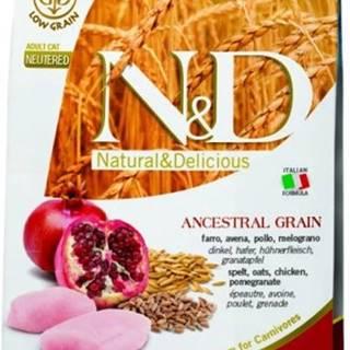 N&D Low Grain CAT Neutered Chicken & Pomegranate 10kg
