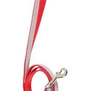 Vodítko mačka SHINY nylon červené 1m Zolux