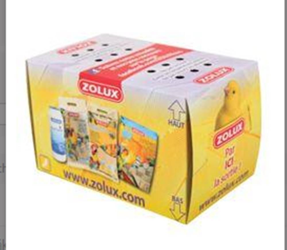 Zolux Přepravní krabice papírová pták 14cm Zolux