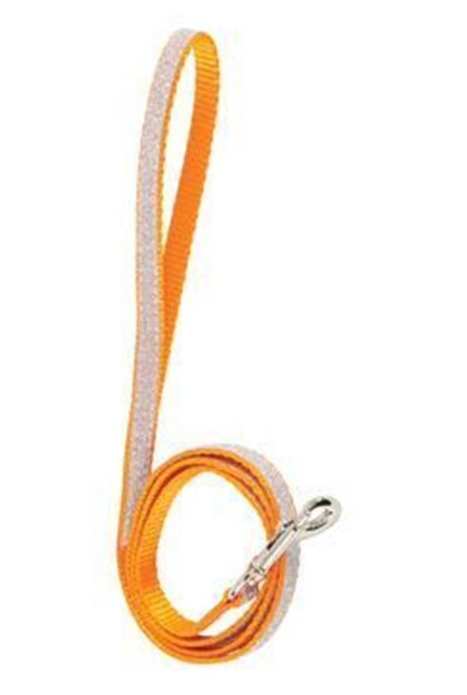Zolux Vodítko mačka SHINY nylon oranžovej 1m Zolux