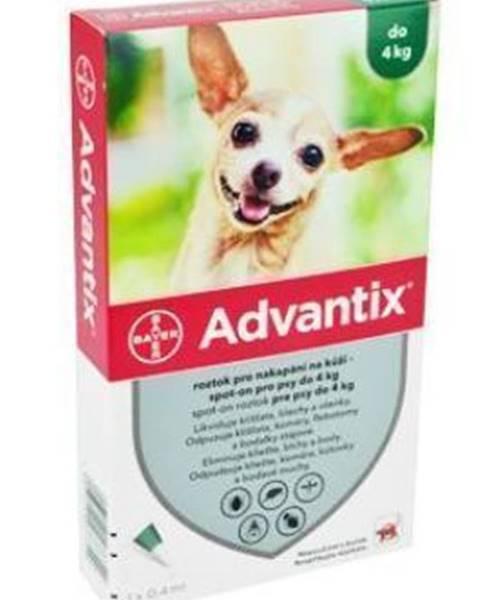 Antiparazitiká Advantix