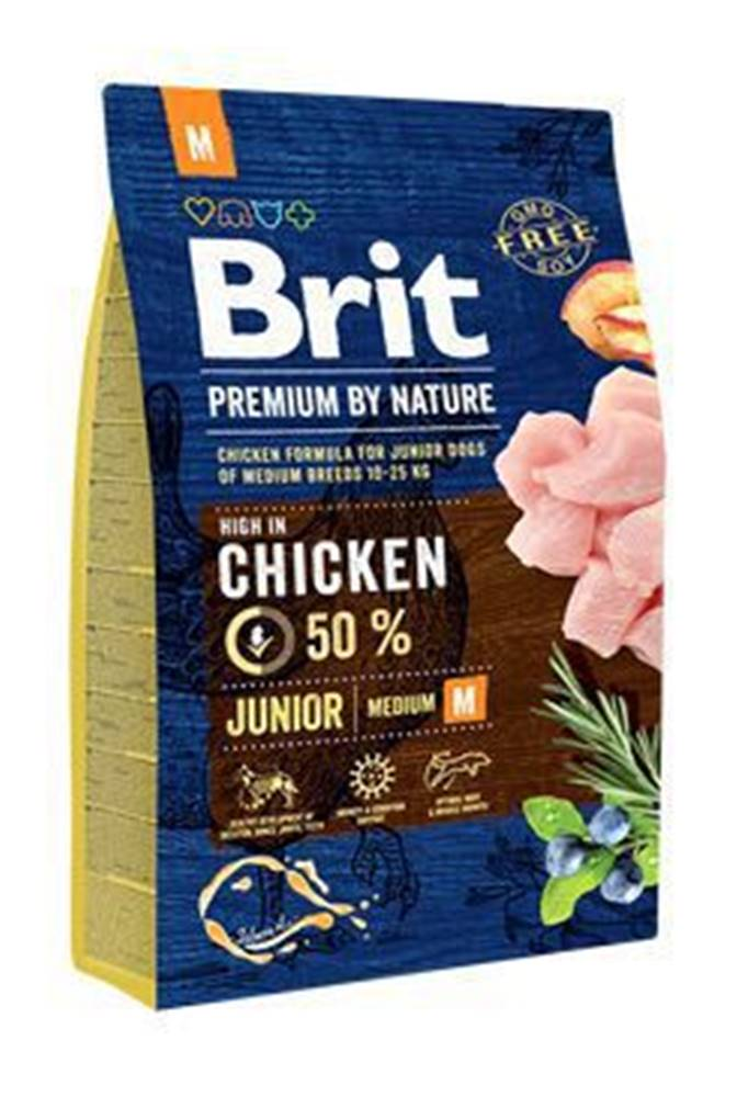 Brit Brit Premium Dog by Nature Junior M 3kg