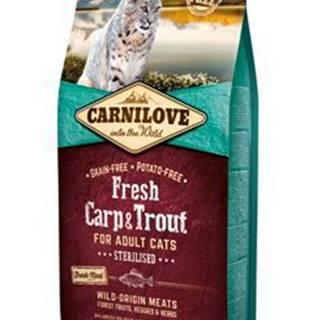 Carnilove Cat Fresh Carp & Trout Sterilised Adult 6kg