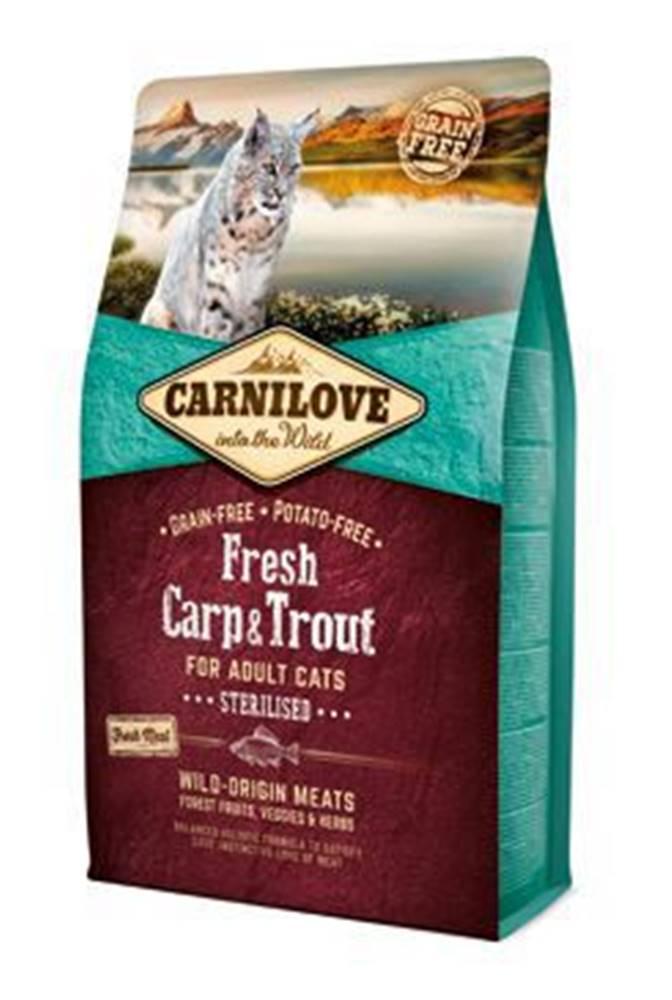 Carnilove Carnilove Cat Fresh Carp & Trout Sterilised Adult 2kg