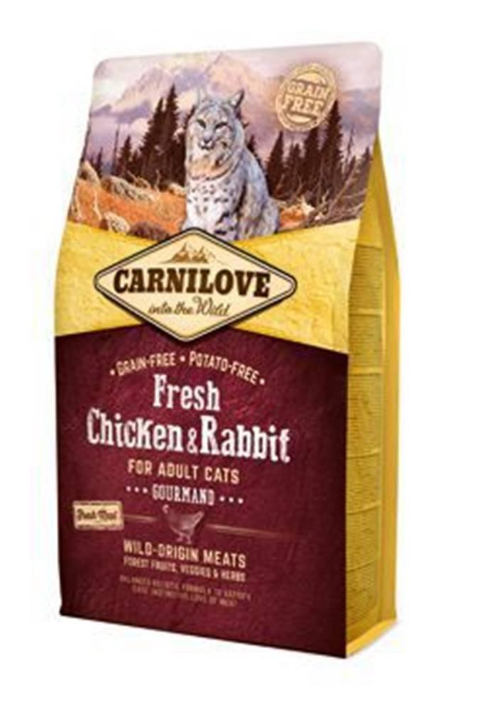 Carnilove Carnilove Cat Fresh Chicken & Rabbit for Adult 2kg