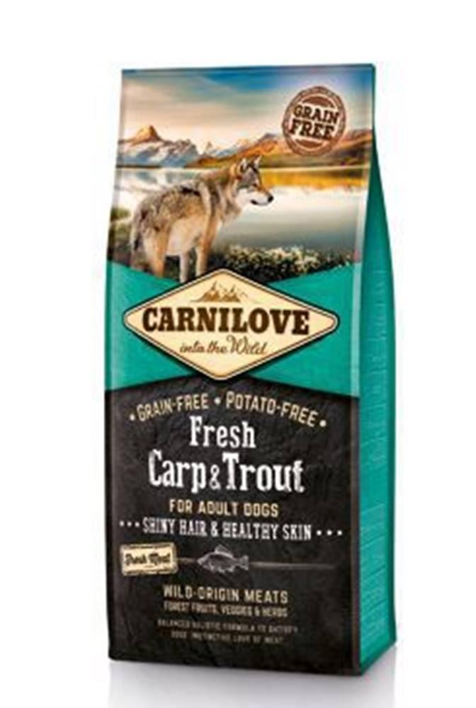 Carnilove Carnilove Dog Fresh Carp & Trout for Adult 12kg
