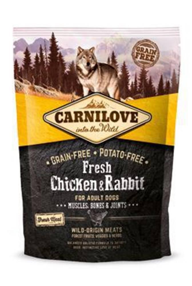 Carnilove Carnilove Dog Fresh Chicken & Rabbit for Adult 1.5kg