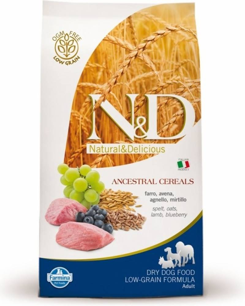 N&D N&D LG DOG Puppy M/L Lamb & Blueberry 12kg