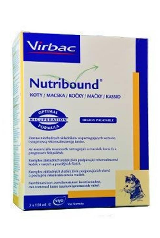 Virbac Nutribound Cat 3x150ml