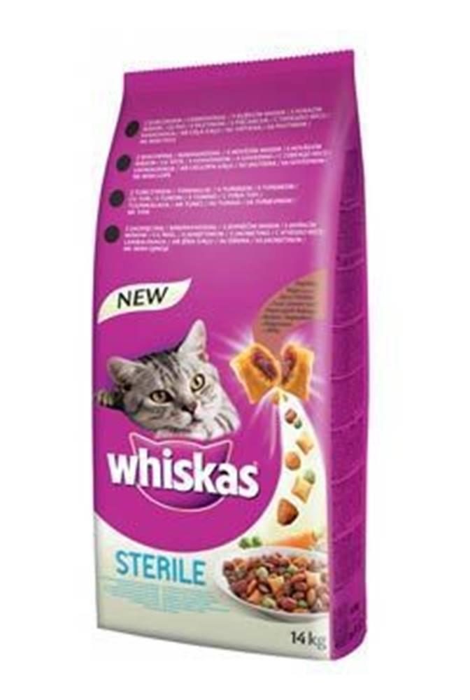 Whiskas Whiskas Dry s kuřecím masem - STERILE 14kg