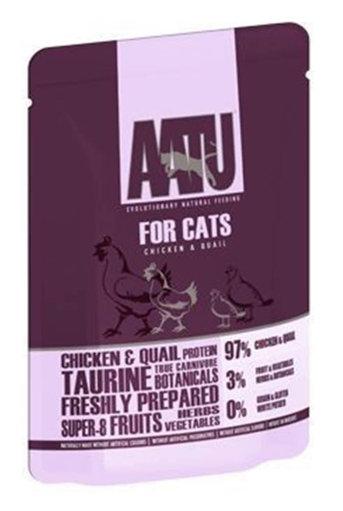 AATU AATU Cat Chicken n Quail kaps. 85g