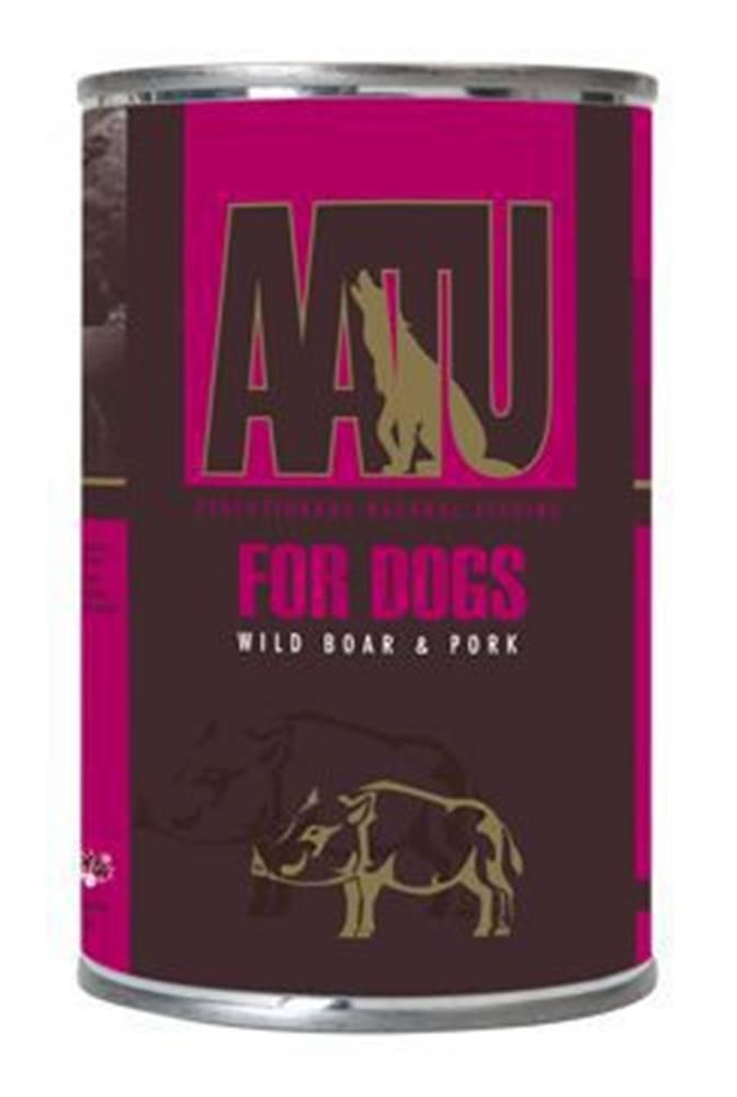 AATU AATU Dog Wild Boar n Pork konz. 400g
