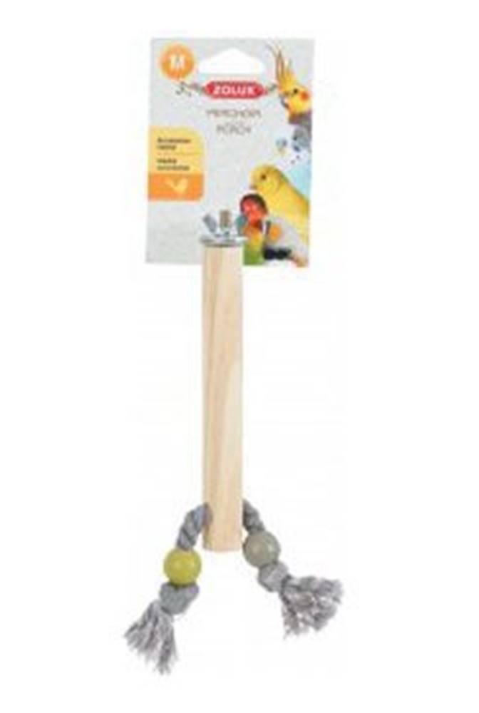 Zolux Bidlo pro ptáky dřevěné M 21cm Zolux