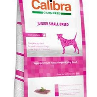 Calibra Dog GF Junior Small Breed Duck 7kg NEW