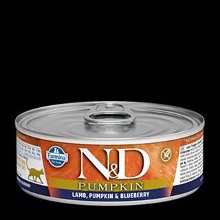 N&D GF CAT PUMPKIN Adult Lamb & Blueberry 80g