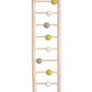 Žebřík pro ptáky dřevěný 9 příček 37,5cm Zolux
