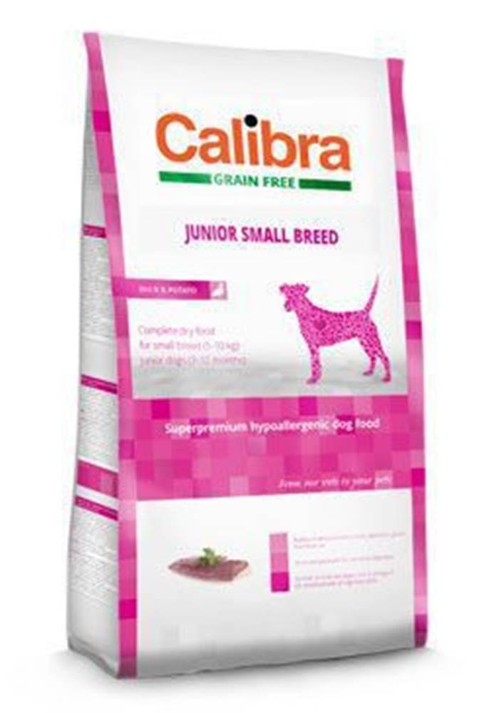 Calibra Calibra Dog GF Junior Small Breed Duck 7kg NEW