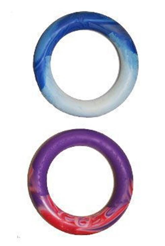 SUM-PLAST Hračka pes Kruh guma plovací Vanilk. 16 cm SP