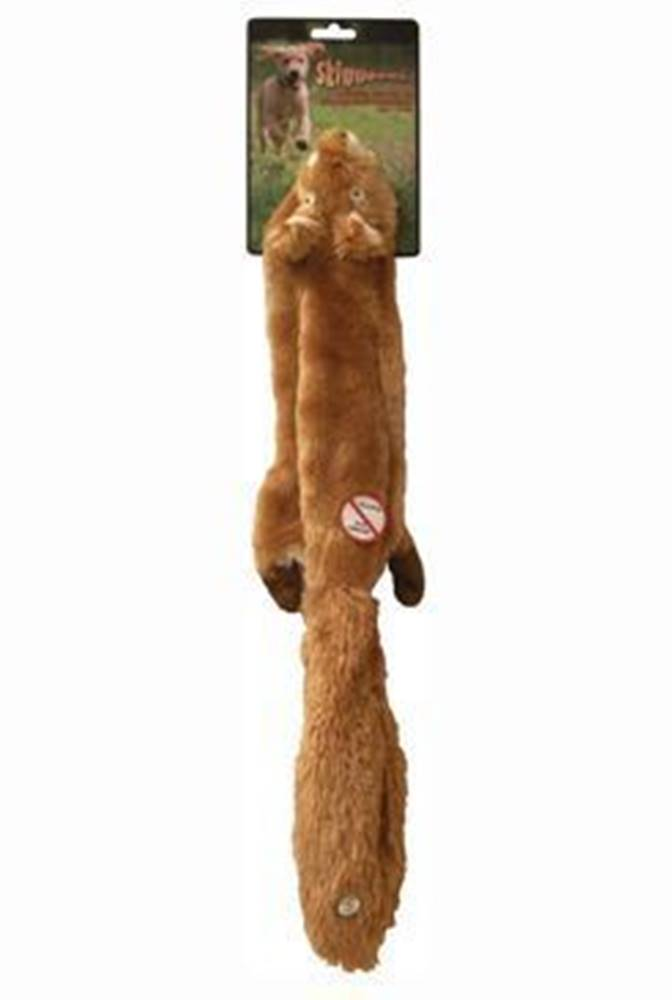 Skinneeez Hračka pes Veverka pískací 61cm Skinneeez