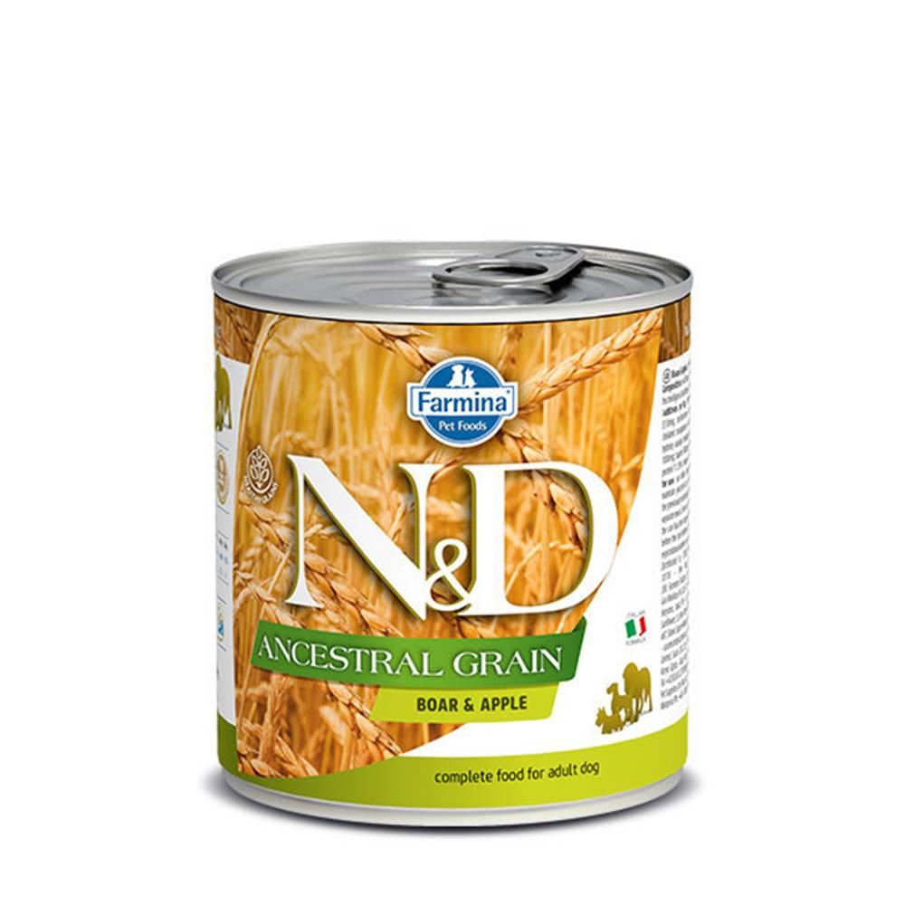 N&D (Farmina Pet Foods) N&D DOG LOW GRAIN Adult Boar & Apple 285g