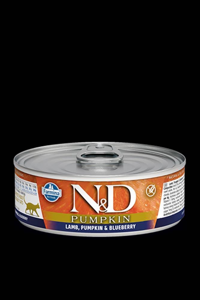N&D (Farmina Pet Foods) N&D GF CAT PUMPKIN Adult Lamb & Blueberry 80g