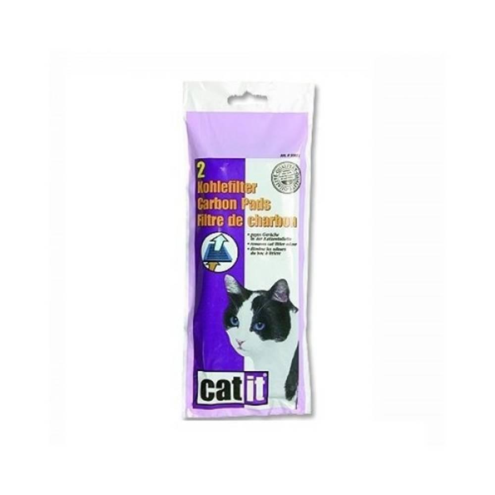 Plaček Náhradní filtr uhlíkový pro WC CATIT s krytem 2ks