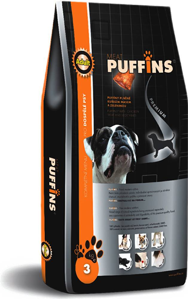 Puffins Puffins Adult Lamb Rice 15kg