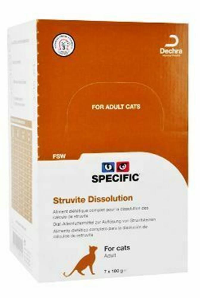 Specific Specific FSW Struvite Dissolution 7x100gr konz. mačka
