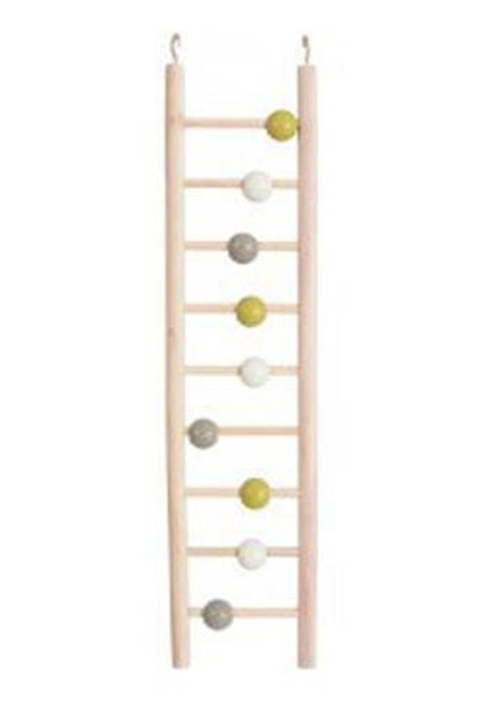 Zolux Žebřík pro ptáky dřevěný 9 příček 37,5cm Zolux