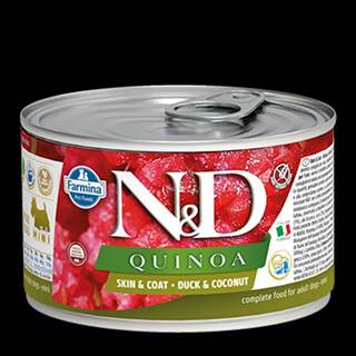 N&D DOG QUINOA Duck & Coconut Mini 140g