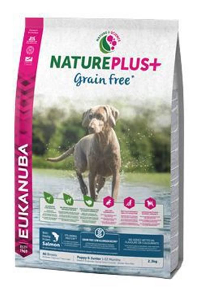 Eukanuba Eukanuba Dog Nature Plus+ Puppy Grain Free Salmon2,3kg