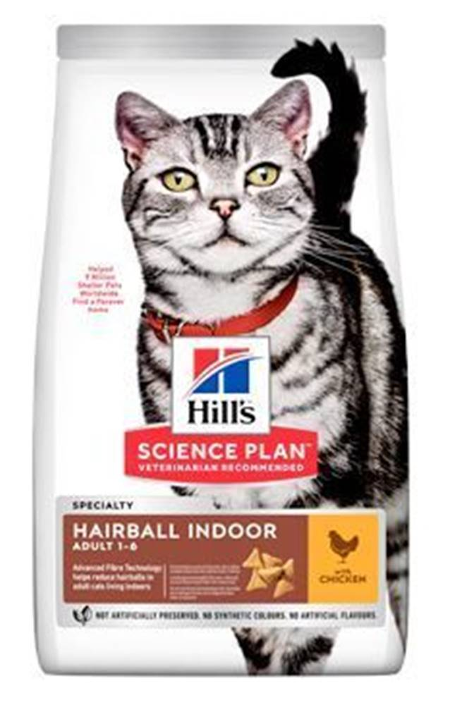 "Hill's Hill's Fel. Dry Adult""HBC for indoor cats""Chicken 3kg"