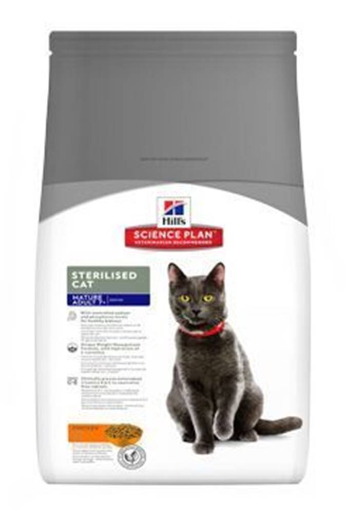Hill's Hill's Fel. Dry Mat Adult7+Sterilised Cat Chicken 3kg