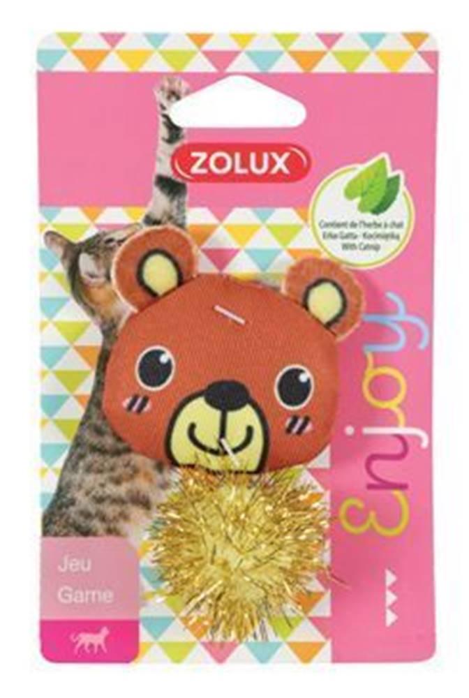 Zolux Hračka mačka LOVELY s santa medveď Zolux