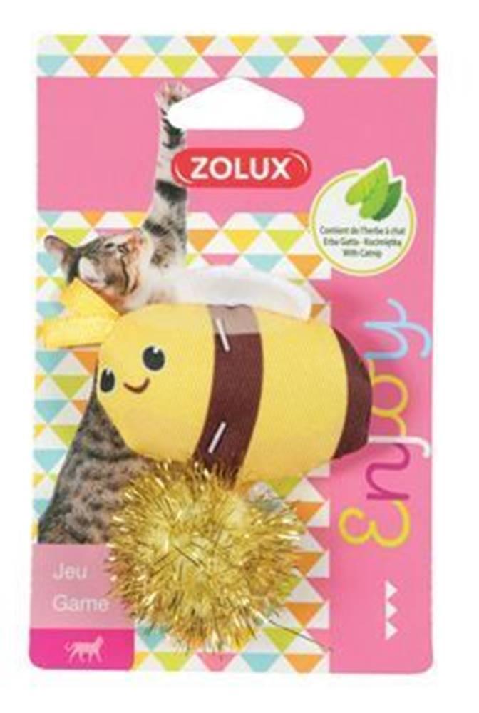 Zolux Hračka mačka LOVELY s santa včela Zolux