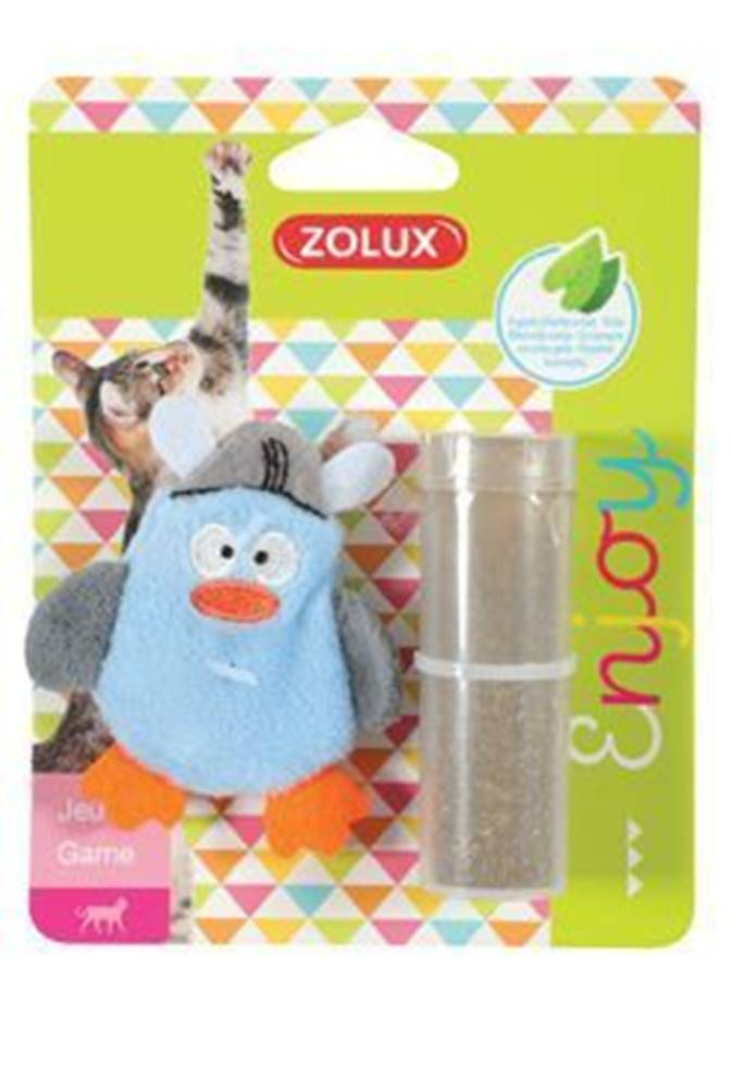 Zolux Hračka mačka PIRATE plniace + kocúrnik modrá Zolux