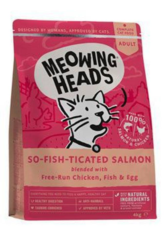 Meowing Heads MEOWING HEADS So-fish-ticated Salmon 4kg