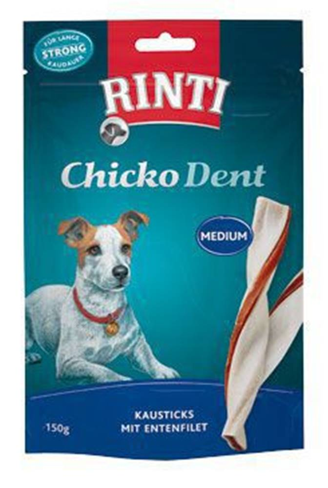 Rinti Rinti Dog pochoutka Extra Chicko Dent kachna M (150g)