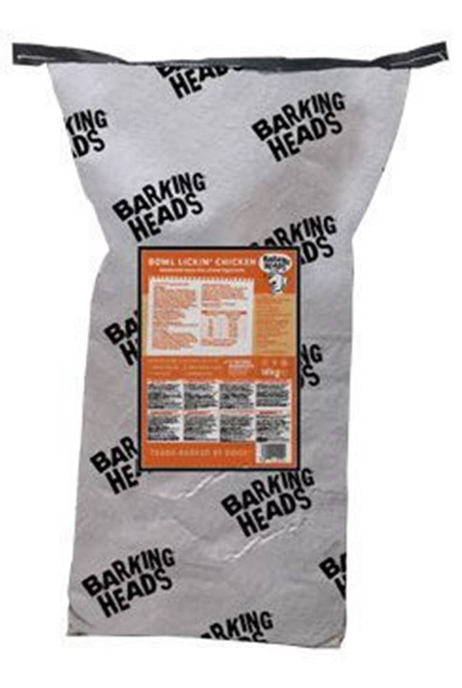 Barking heads BARKING HEADS Bowl Lickin' Chicken 18kg